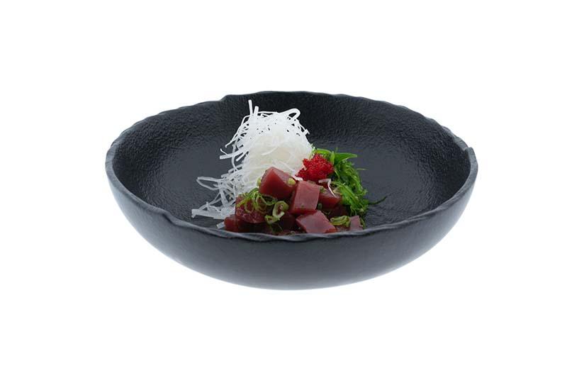Plato de comida restaurante carta QR