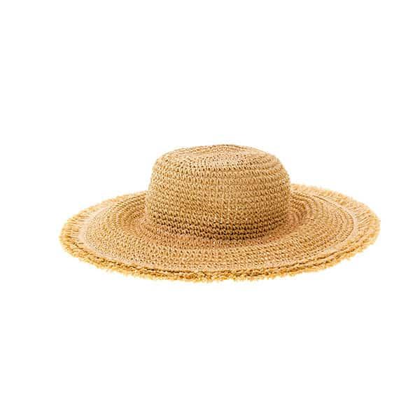 fotografia de sombrero de paja