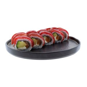 Fotografia de alimentos sushi
